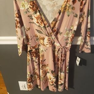 Soft, comfy and cute short fall style dress
